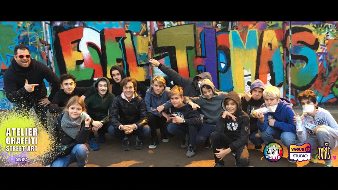 COURS-GRAFFITI-STREET-ART-PARIS-ACTIVITE-ORIGINALE-ANNIVERSAIRE-ENFANTS