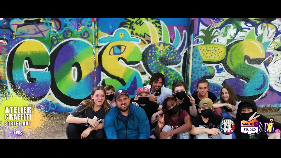 COURS-GRAFFITI-STREET-ART-PARIS-SORTIE-ORIGINALE-EDUCATIVE-SCOLAIRE-PEDAGOGIQUE