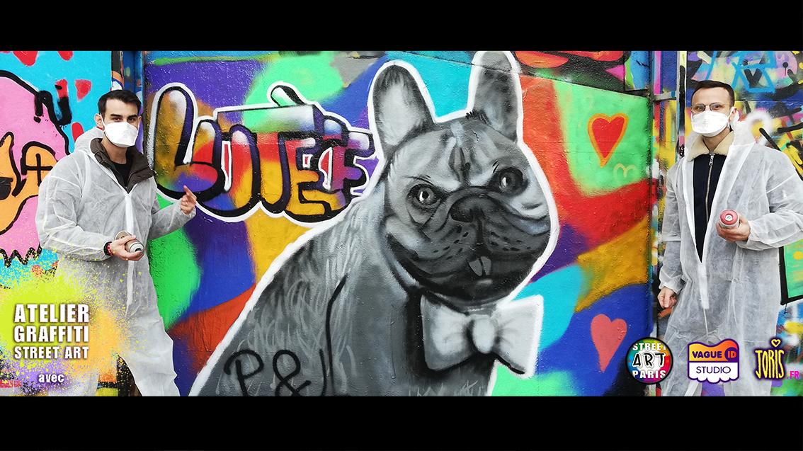 COURS-GRAFFITI-STREET-ART-PARIS-SORTIE-ORIGINALE-ENTRE-COPAIN