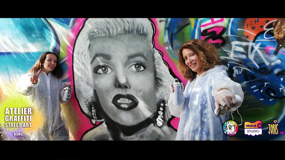 COURS-GRAFFITI-STREET-ART-PARIS-SORTIE-ORIGINALE-MERE-FILLE
