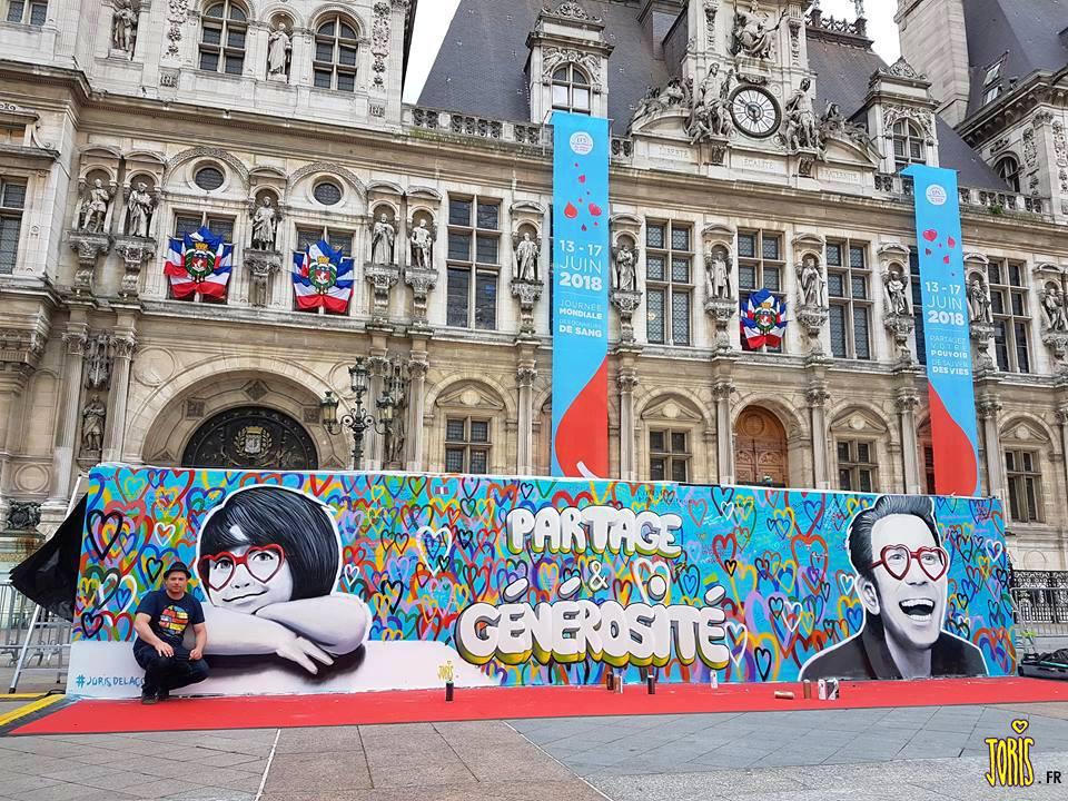 _DON DU SANG_ EFS PARIS 2018 PARVIS HOTEL DE VILLE PARIS 4 JORIS