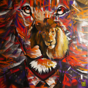 Joris Delacour LION MAN 100 x 100 x 1 400 €