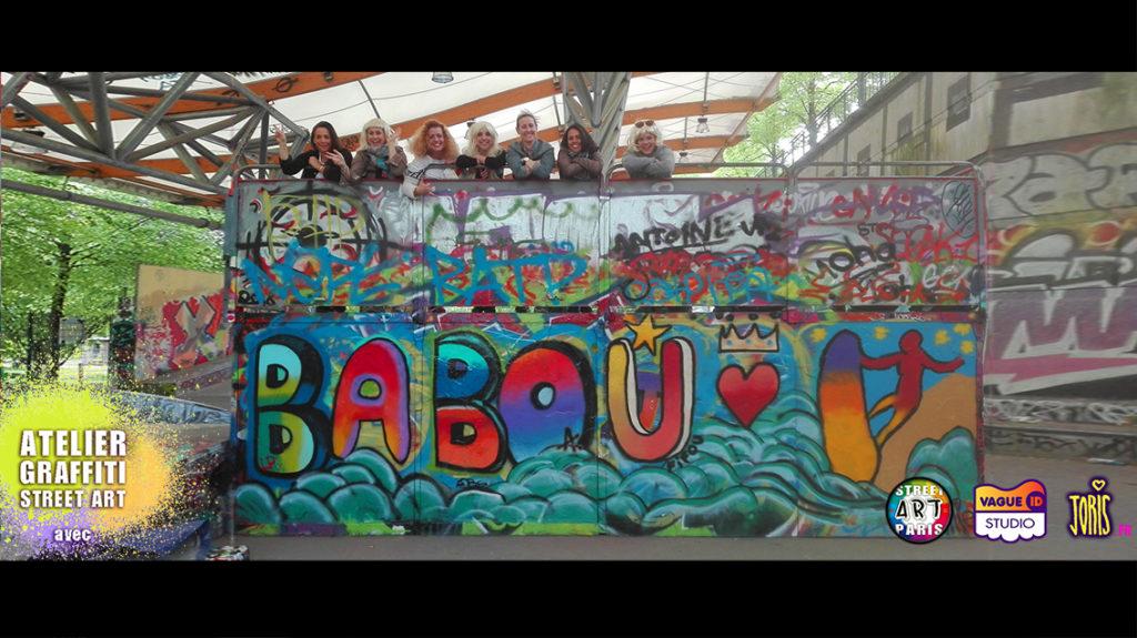 atelier-graffiti-street-art-paris-activite-originale-evjf-enterrement-de-vie-de-jeune-fille
